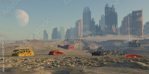 Fotografia paisaje apocaliptico