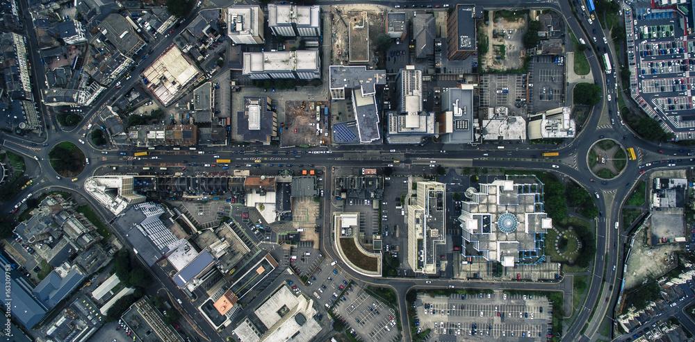 Fototapety, obrazy: Drone Image