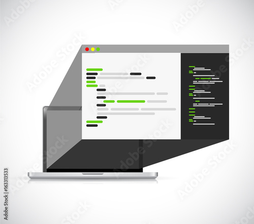 фотография  computer programing 3d browser icon illustration