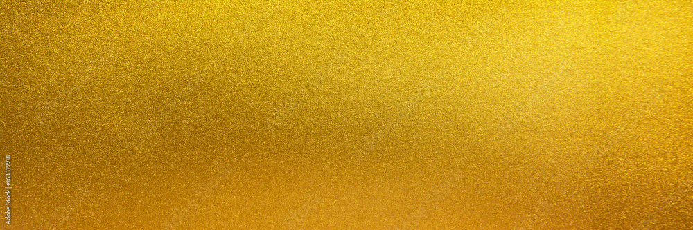 Fototapety, obrazy: Metal texture background in gold.Panorama gold texture