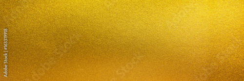 Stampa su Tela Metal texture background in gold.Panorama gold texture