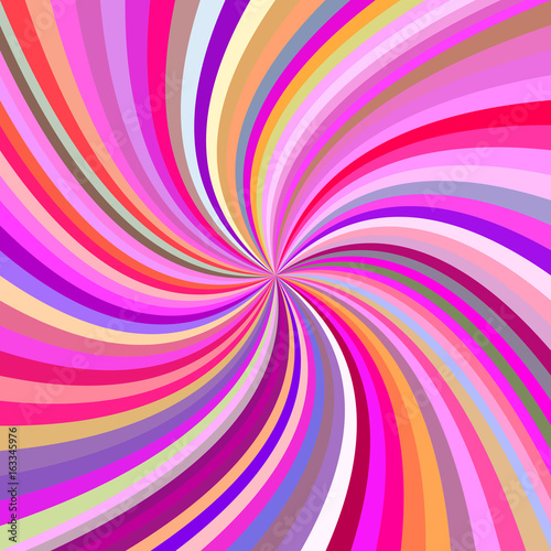 Spoed Foto op Canvas Psychedelic Multicolored abstract swirl background