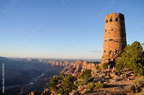 Fototapeta Desert View Tower, Grand Canyon, Arizona