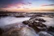 Spectacular Sunrise at Newcastle Beach, NSW, Australia