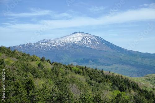 Fényképezés  Etna Mount From Nebrodi Park, Sicily