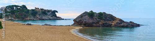 Fototapety, obrazy: Summer La Fosca beach, Palamos, Spain.
