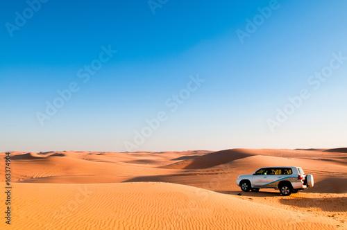 Poster Abou Dabi Desert trip, desert safari