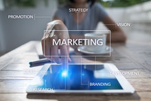 Marketing Business Concept On ...