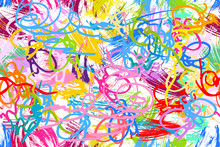 Fine Art Background. Seamless Vector Pattern With Grunge Texture.