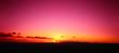 canvas print picture - Tramonto rosso viola