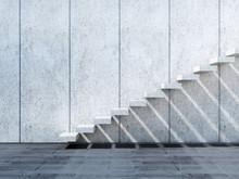 3d Concrete Stairs Installatio...