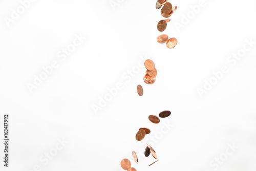 Cuadros en Lienzo  falling pennies