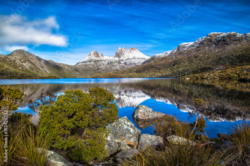 Fotomural Cradle Mountain, Central Highlands region of the Australian state of Tasmania