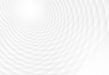Abstract Spiral White Background