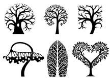 A Set Of Artistic Symbols Of T...