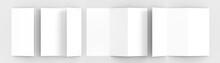 A4. Blank Trifold Paper Brochu...