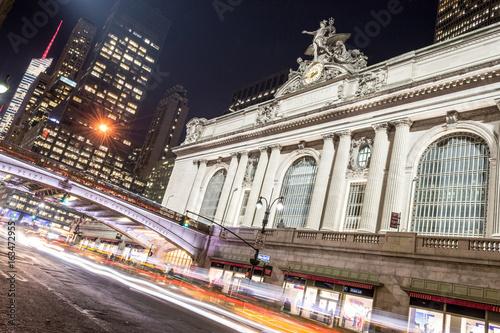 Photo  Grand Central Terminal facade from Park Avenue
