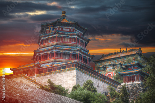 Canvas Print Summer Imperial Palace
