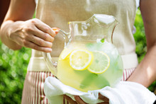 Traditional Lemonade In A Pitc...
