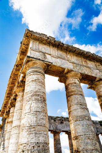 Fotografie, Obraz  Ancient Temple Ruins in Segesta Sicily