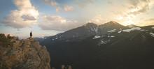 Longs Peak From Estes Cone