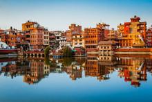 Lake In Patan