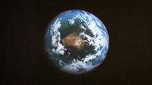 Realistic Earth Around Australia