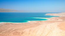 Dead Sea Salt Lake Surface Shore And Beach