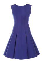 Little Blue Dress With Rhinest...