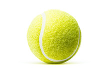 Tennis Ball Isolated In White ...