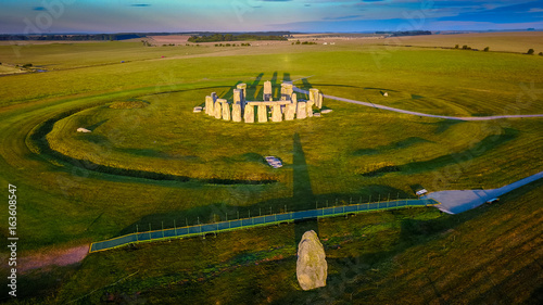 Fotografie, Obraz Sunrise at Stonehenge