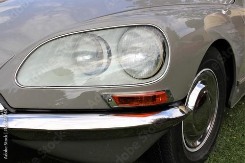 Poster Vintage voitures Classic car, vintage, headlight