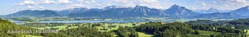 Fotografija  Traumhaftes Panorama vom bayrischen Königswinkel