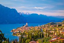 Town Of Malcesine On Lago Di G...