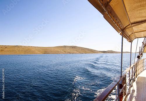 Staande foto Zeilen Croatia, cruising along Kornati islands