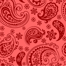 Paisley Pattern, Paisley Background For Scarf, Printing, Packing Etc.