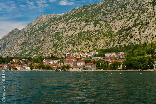 Garden Poster Scandinavia View of Bay of Kotor