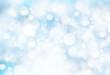 Snowy winter blurred background.
