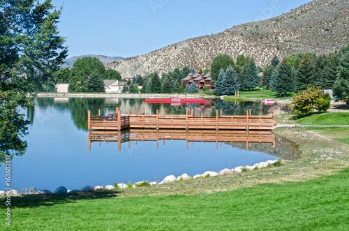 Photo Nottingham Lake in Avon, Colorado
