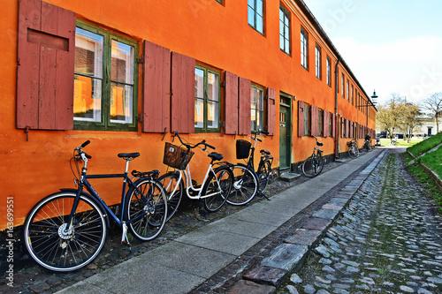 Photo  Ruelle bleue Copenhague