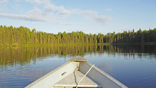 Beautiful Lake In Province Of Quebec, Canada
