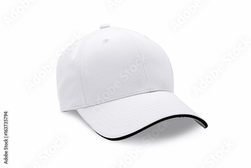 Cap isolated on white background. Baseball cap. Canvas-taulu