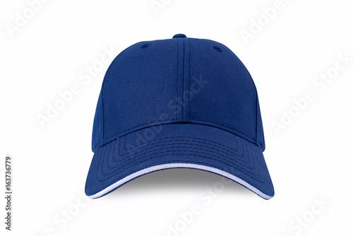 Fotografia  Cap isolated on white background. Baseball cap.