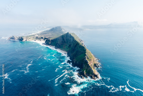 Fotografering  Cape Point and Cape of good hope (South Africa)