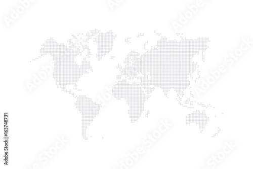 Background backdrop world map create from square dots vector background backdrop world map create from square dots vector illustration gumiabroncs Images