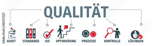 Fotomural  Banner Qualität und Audit