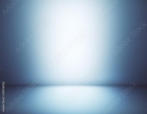 Fotografiet  Gray gradient interior