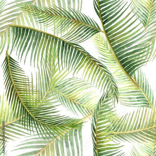 akwarela-bezszwowe-wzor-z-tropikalny-lisci-na-bialym-tle