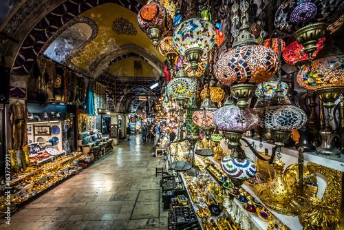 Grand Bazaar in Istanbul Canvas Print