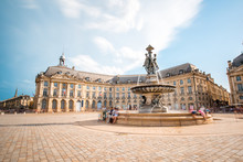 View On The Famous La Bourse S...
